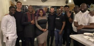 Twitter founder, Jack Dorsey, speaks Yoruba in company of Toolz, Joe Abah, others