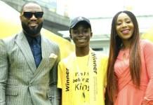 Ifeoluwa Ademuwa MTN Kid CEO Dakore Egbuson-Akande and Praiz