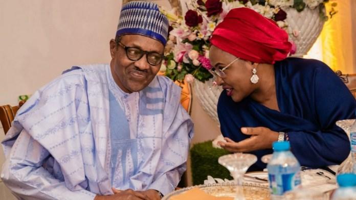 Muhammadu Buhari and Aisha Buhari