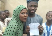 Boy wins girl in Giade Bauchi love election