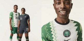 NFF unveils new jerseys for national teams