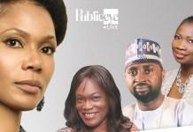 Funmi Iyanda hosts Abike Dabiri Omayeli Odeli on Public Eye