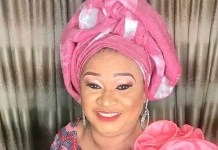 Nollywood actress Rachel Oniga