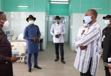 Rivers Commissioner Princewill Chike visits NLNG medical facility