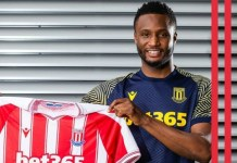 John Mikel Obi joins Stoke City