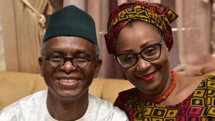 Nasir El-Rufai and wife Hadiza