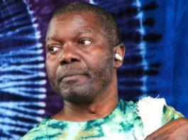 Nigerian drummer Sikiru Adepoju