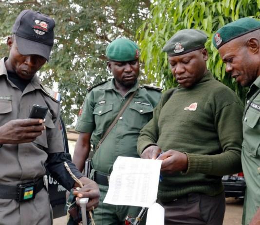 Nigeria Police policemen