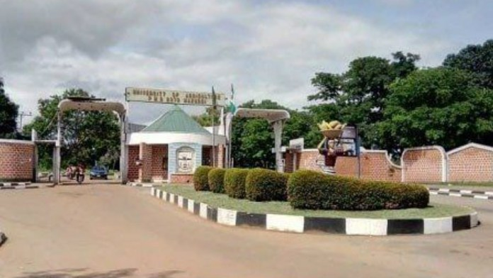 Federal University of Agriculture Makurdi (FUAM) in Benue State