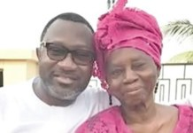 Lady Doja Otedola and Femi Otedola