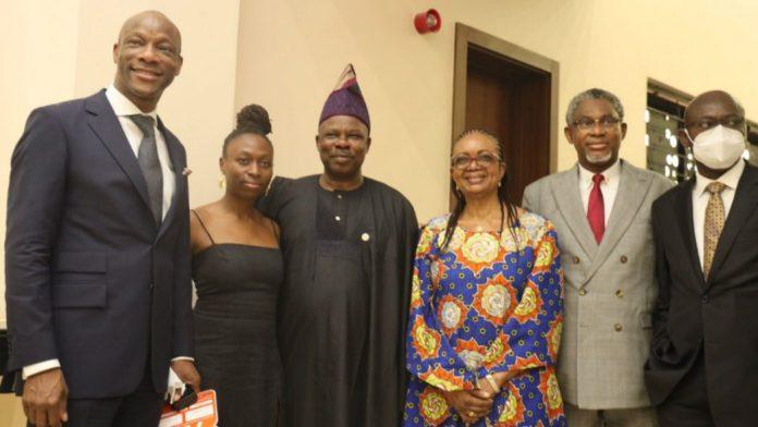 Segun Agbaje, Ibikunle Amosun, others at Tayo Aderinokun GTBank complex