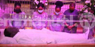 Family observes TB Joshua at lying-in-state
