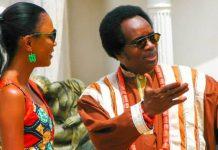 Funmi Iyanda and Victor Uwaifo