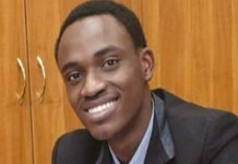 Nigerian student Oluwatuyi Olowoyeye in Hungary