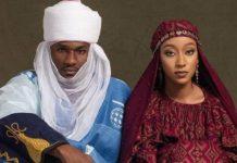 Yusuf Buhari and bride Zahra