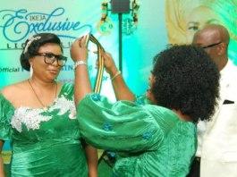 Irene Ikpeazu president of Ikeja Exclusive Lion Club