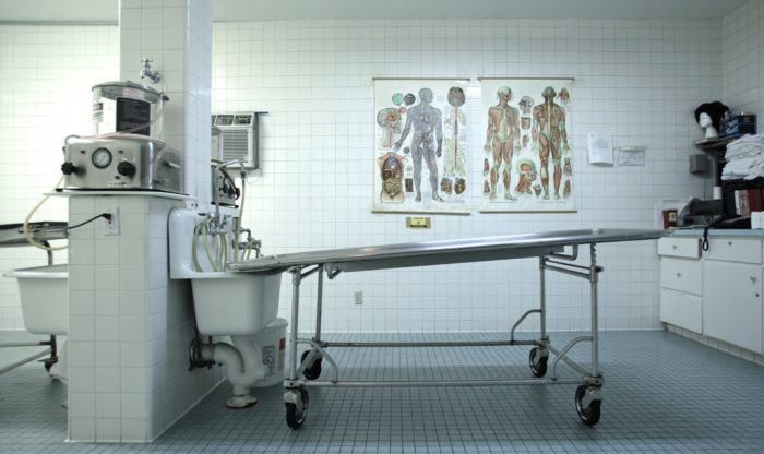 Embalming Room
