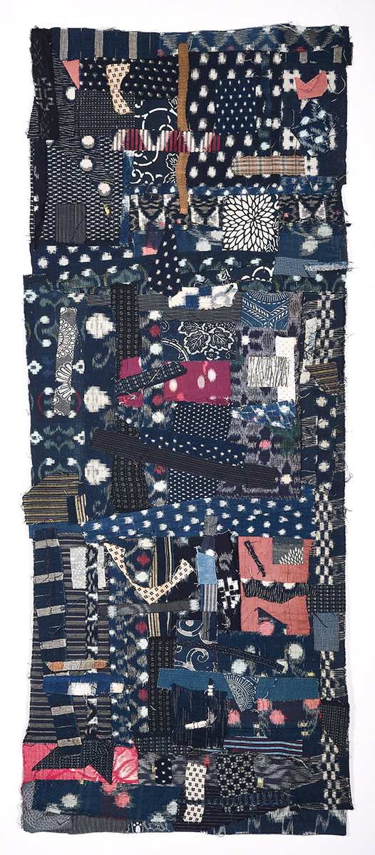Arigato: Boro Boro Byobu 5 - Skirt © Susan Ball Faeder