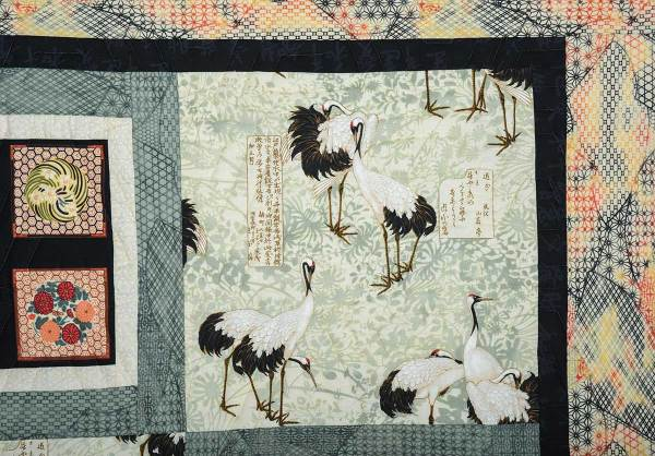 Detail of Japanese Cranes © Susan Ball Faeder