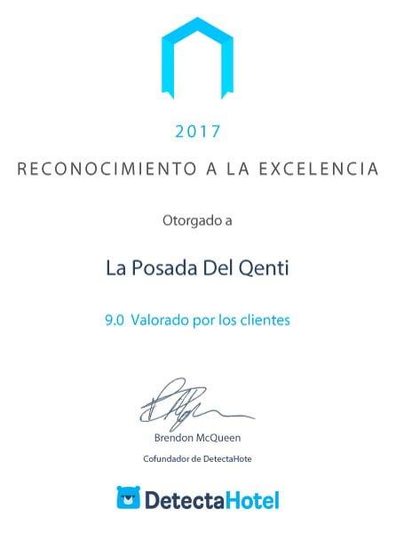 DetectaHotel reconoce a La Posada Del Qenti entre los mejores alojamientos en Argentina