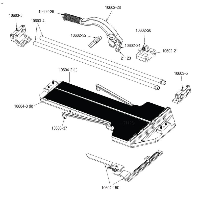 QEP 10900Q Best Manual Tile Cutter. Qep 10600br Tile Cutter Parts Qepparts Com