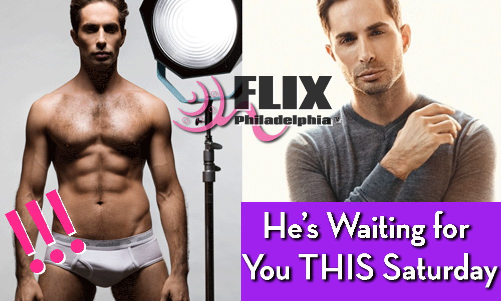 Porn Star & Director Michael Lucas- Meet Him Tonight in Philly!