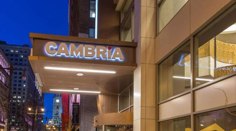 Cambria Hotel Philadelphia Becomes Official Host Hotel