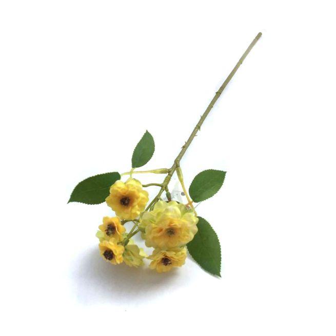 Galho Camélia amarelo