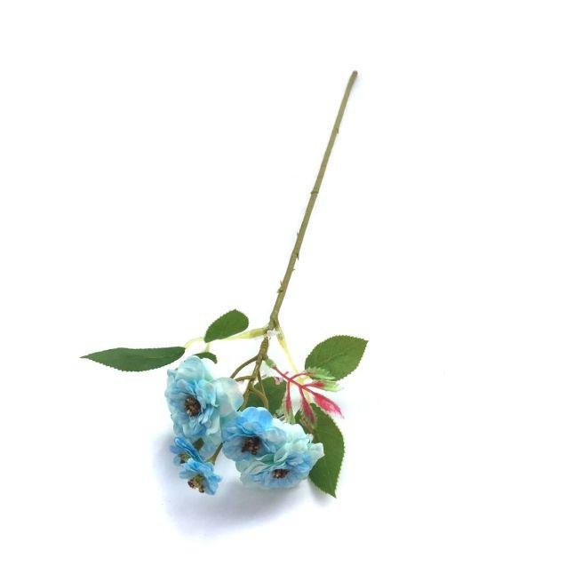 Galho Camélia azul