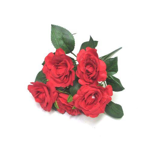 Buquê de Mini Rosas – LE0007 – Flores Artificiais