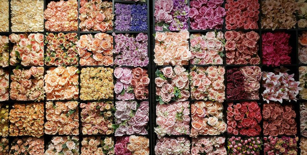 loja de flores artificiais