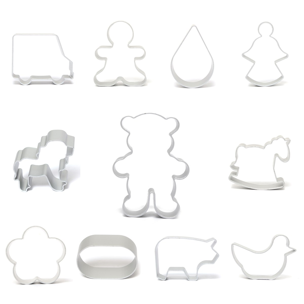 Sugar Cookie Cutters Biscuit Pastry Mould Fondant Cake