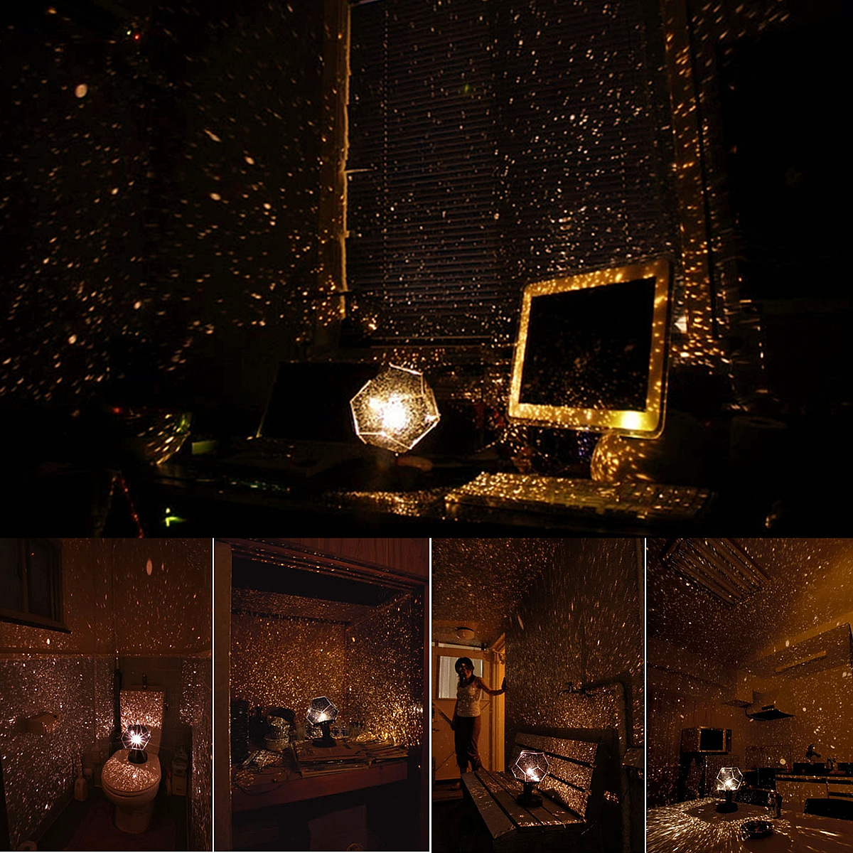 Astro Sign Star Space Laser Projector Cosmos Night Light