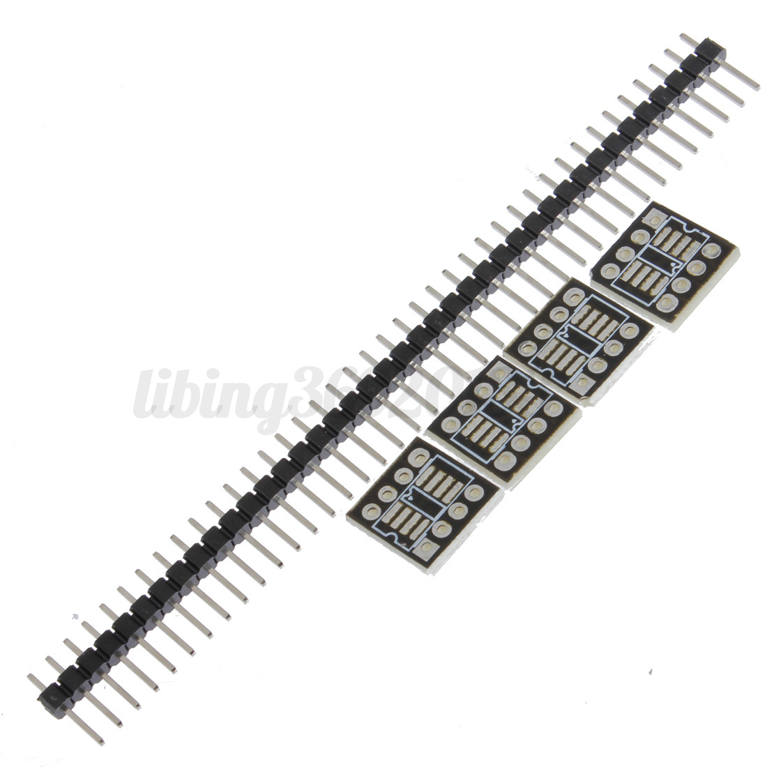 10 Pcs Sop8 So8 Soic8 To Dip8 Breakout Adapter Smd Pcb Convertor Board Module
