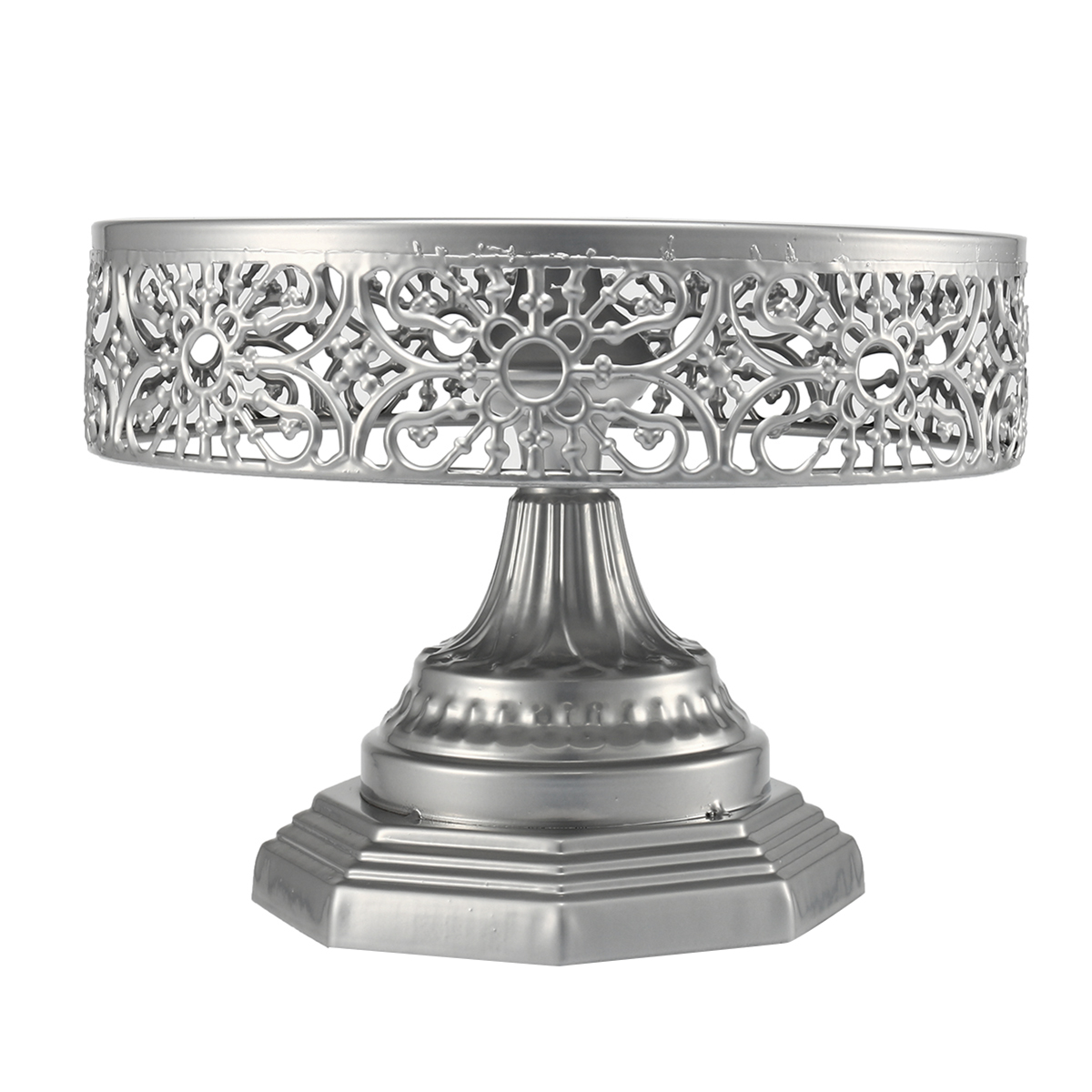 Retro Wedding Cake Stand Round Metal Event Party Display