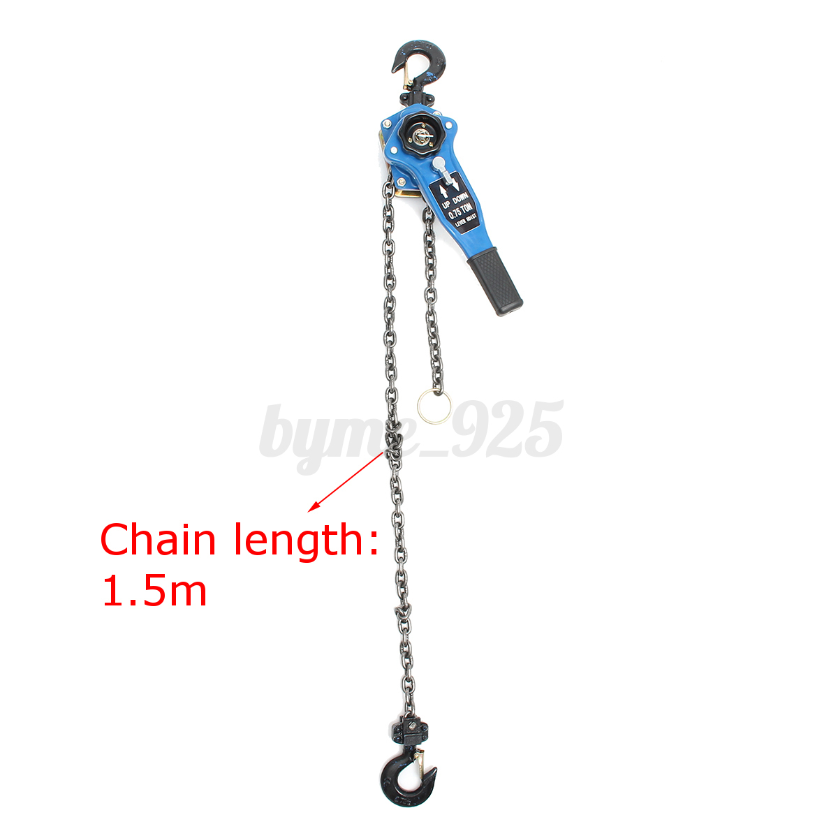 Us 3 4 Ton Lever Block Chain Hoist Ratchet Type Come Along