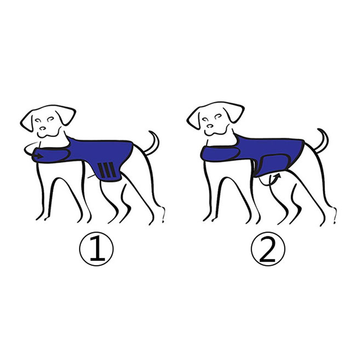 Dog Comfort Calming Vest Thunder Anxiety Calm Harnesses