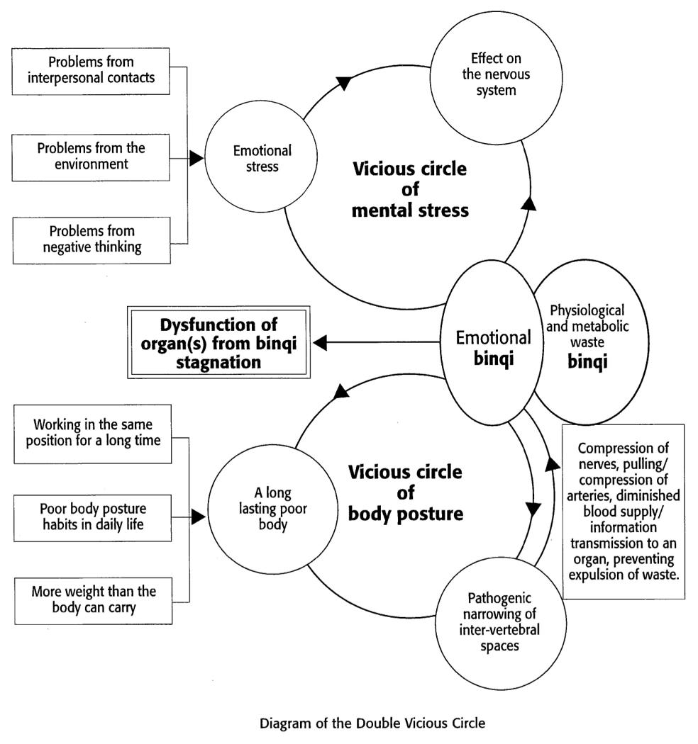 Qigong, Binqi & Den doble negative sirkelen - Qigongsenteret