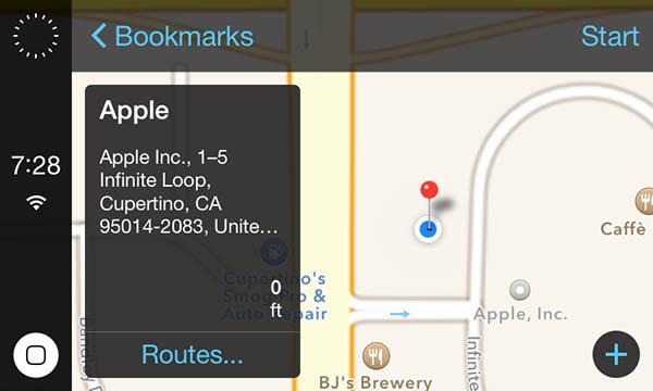 iOS en el Auto para iOS 7