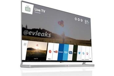 TV LG con webOS — CES 2014