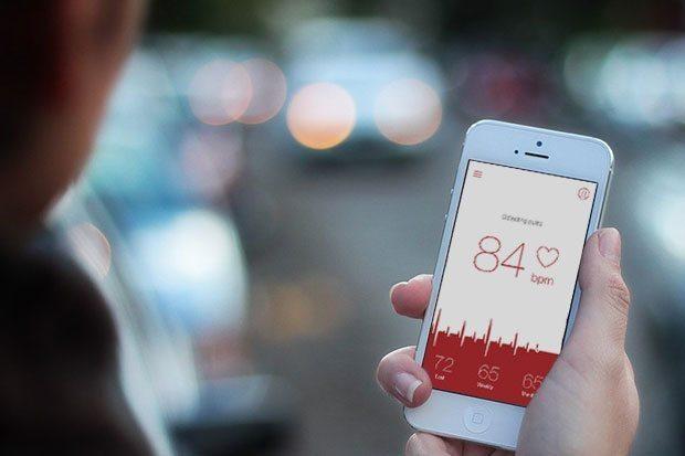 Apps para monitorar pulso en iPhone