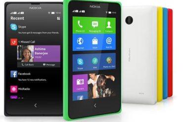 Nokia X y Nokia X+