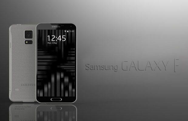 Concepto Galaxy F / Galaxy S5 aluminio