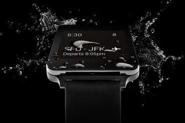 LG G Watch resistente al agua y polvo