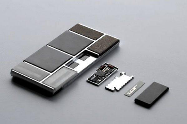 Google I/O 2014 - Teléfono Project Ara - prototipo