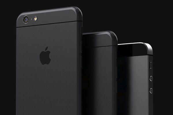 Render iPhone 6 negro
