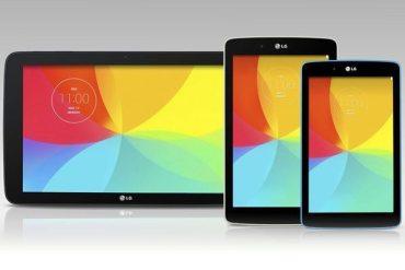 LG G Pad 7.0, LG G Pad 8.0, G Pad 10.1