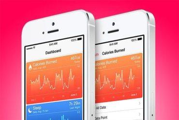 Health app en iOS 8