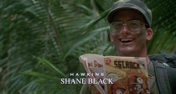 Shane Black in Predator