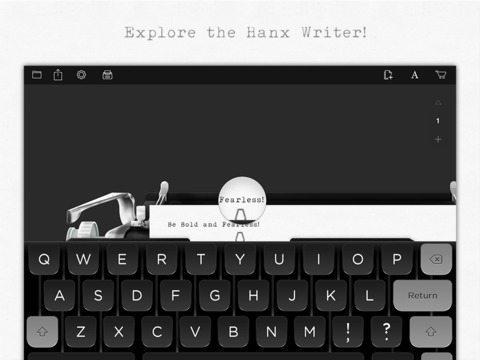 Hanx Writer app